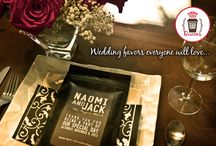 Wedding coffee and hot chocolate / Gorgeous, practical and unique! Fully customizable coffee and hot chocolate wedding favors that everyone will love!