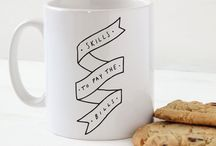 mugs i want / by Erica Cheung