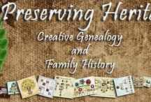 Genealogy and Family History / by Janis Martin
