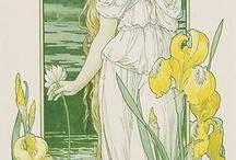 art (mostly art nouveau)
