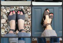 flip-flops & shoes