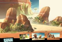 CG paysages & city