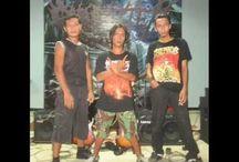 "OBSTREPEROUS Band ""KEDIRI KINGDOM DEATH METAL"""