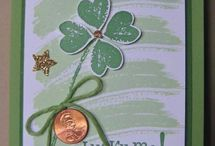 St. Patrick's Day Projects / Crafty projects with a St Patrick's Day theme / by Stamptastic Designs