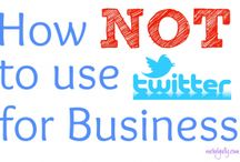Twitter / Tweet Tweet - articles and posts about Twitter and how to use it.