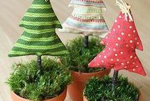 Boże Narodzenie Drzewko materiałowe