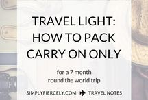 Travel || Packing Tips