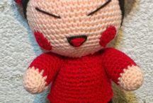 personajes en crochet