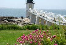 Lighthouses in Midcoast Maine / Visit the many lighthouses nearby Lincolnville - just short scenic drives. / by Bay Leaf Cottages & Bistro