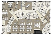 Business offices layout