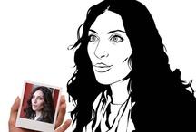 Black & White / Dein Portrait im Black & White Style. Auf Leinwand und Poster ganz individuell.