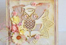 kartka dla nauczyciela / Ręcznie wykonane kartki, podziękowania i inne przedmioty wykonane dla nauczycieli z różnych okazji, do stworzenia których wykorzystano produkty marki Papelia oraz inne dostępne w sklepie Craft Style