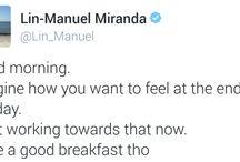 Miranda tweets