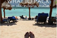 Vacation ideas / Packing ideas