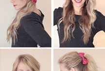 Bow and hairstyle