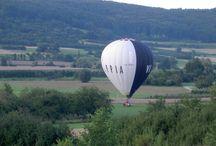Ballonfahrten / Ballonfahrten und Landungen in der Fränkischen Schweiz