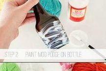 diy bottle botol recycle