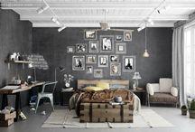 gray walls for bedroom