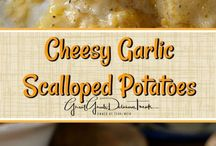 Side dishes-Scalloped Potatoes