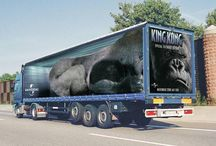 Truck Art and Ads / A collection of the amazing truck ads. I don't know about you but I really do find these quite fascinating. I still have to understand if they are all for real, but they look just great. Enjoy our pinning  thanks for stopping by and repining too! http://www.lobina.co.uk/