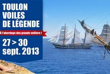 # MTSR2013 - Mediterranean Tall Ships Regatta 2013 - Toulon / On this board we gather the moments and ambiances of the  most festive sailing event in Toulon Harbor & Bay - le Var - September 27th to 30rd.