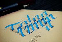 caligrafía&lettering