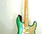 Mike Keneally green stratocaster