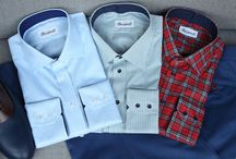 Casual shirts / https://www.facebook.com/media/set/?set=a.10152229786424844.1073742109.94355784843&type=1&notif_t=like  #mtm #madetomeasure #albini #shirts #buczynski #buczynskitailoring