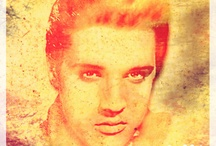 Love me tender / Portrait of Elvis Presley. Made by me. This work is licensed under a Creative Commons Attribution-Noncommercial-No Derivative Works 3.0 License. http://creativecommons.org/licenses/by-nc-nd/3.0/