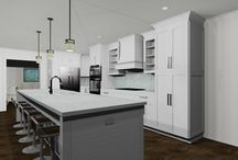 3D Kitchen&Bath Design Renderings / A curated assortment of my Kitchen & Bath renderings designed to inspire a spark of creativity!