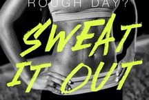 fitspiration / Fit inspiration. Sweat more. Bitch less.