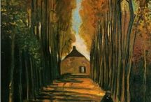 Avenue of Poplars / Avenue of Poplars
