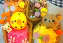 Food which modelled a mascot character