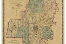Old Maps of Georgia