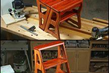 létra+szék