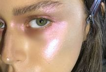 MAKEUP GLOSSY / All makeup looks with glossy shades.