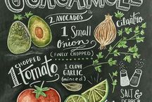 Chalk Board Recipes