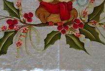 pintura Natal