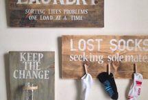 laundry room / by Cyndi Kimball