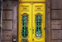 Shut the Front Door!  / BECAUSE I LOVE DOORS?????  / by Heidi D Pursley