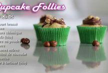 Mes recettes... en vidéo ! / Retrouvez mes recettes en vidéos, pour réaliser de délicieux cupcakes.