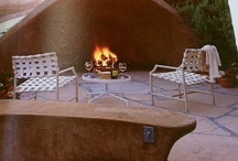 Outdoor Fire Place / by Sue Ackerman