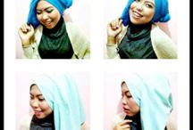 make up and hijab
