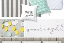 Grey, mint and white nursery / Ideas for a future nursery in grey, mint and white. / by Ana Monteiro
