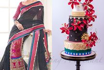 Cakes inspired by fashion @ The Enchanting Merchant Company / Fashion inspired cakes