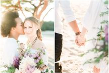 boho engagement session in the Dunes