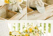 Rustic Wedding Ideas / Flowers and decor ideas for a rustic wedding | Fiori e decorazioni per una cerimonia in stile rustico chic