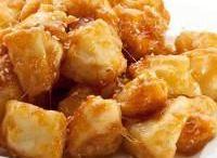 Manzana frita