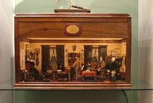 Miniatures by Laverne Sullivan / Laverne Sullivan started making miniatures in the mid-1960s and continued to make them until she passed away in 2003.  The Museum of Miniature Houses is proud to display many of her room settings.