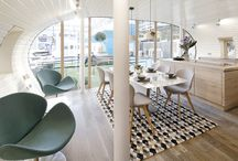 Ideal home case / For the Ideal Home Show in London, BoConcept collaborated with Green Unit to furnish their modular and energy-efficient ARC home.   The overall look is typically Scandinavian with sleek lines and hidden functions within the furniture